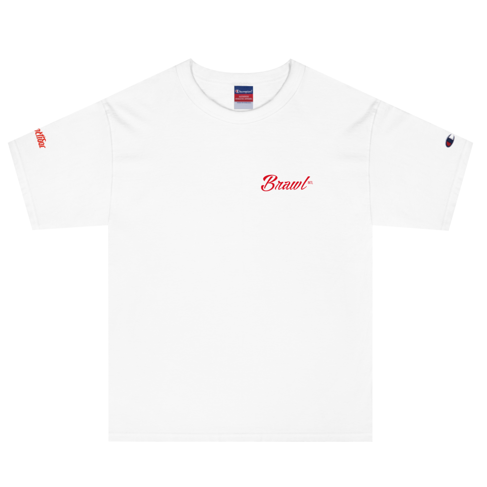 Brawl Intl. Official Champion Tee (White)