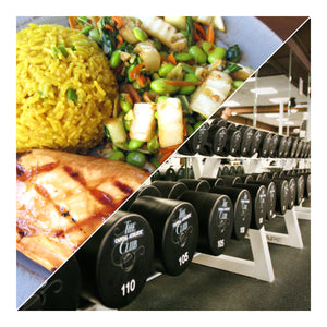 One Month Custom Meal plan and Workout Routine