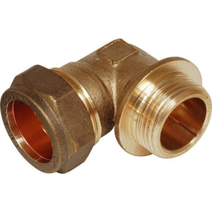 "15mm x 1/2"" MI-C Elbow Compression"