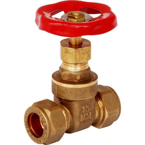 28mm Gate Valve Brassware | Trade Plumbing Supplier