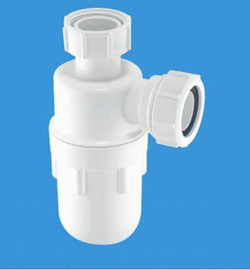 "A10 1 1/4"" x 75mm Deep Seal Bottle Trap"