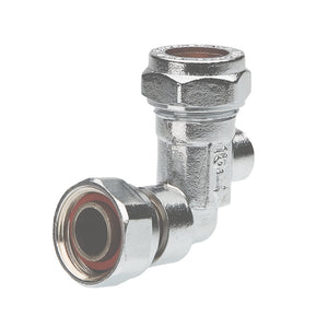 "1/2"" Bent Service Valve Brassware 