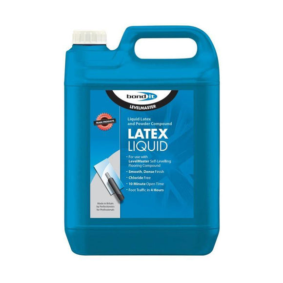 Bond It Level Master Liquid Latex and Powder Compound | Trade Plumbing Supplier