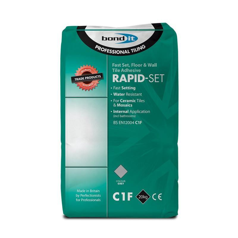 Bond It Rapid-Set Fast Set Floor and Wall Tile Adhesive