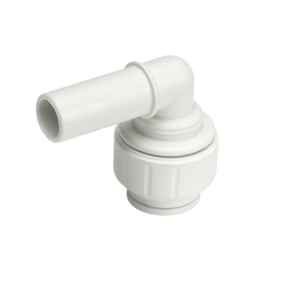 JG SPEEDFIT PLASTIC PUSH-FIT EQUAL 90° STEM ELBOW | Trade Plumbing Supplier - tradeplumbingsupplier.co.uk