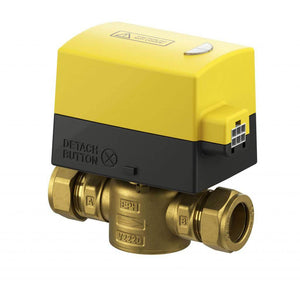 22mm 2 Port Motorised Valve V222P | Trade Plumbing Supplier