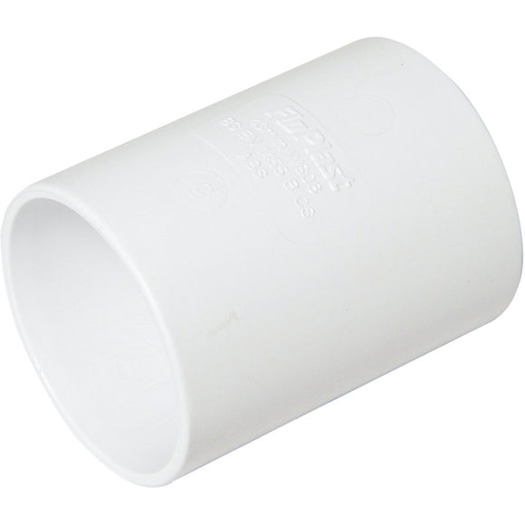 White 32mm Coupling Solvent Waste