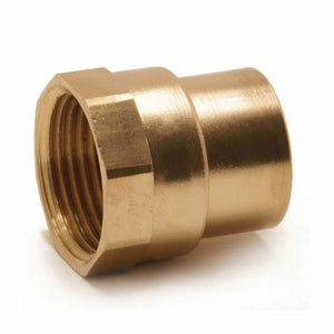 "22mm x 3/4"" Female Coupling Endfeed"