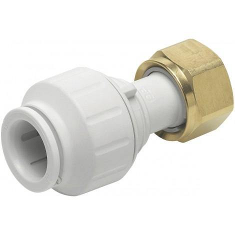 JG Speedfit Push Fit Straight Tap Connector | Trade Plumbing Supplier