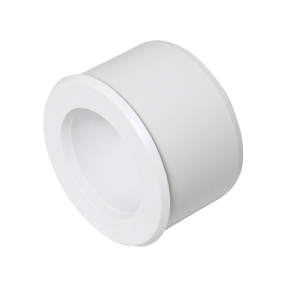 White 40mm x 32mm or 1 1/2 x 1 1/4 Reducers Solvent Waste | Trade Plumbing Supplier