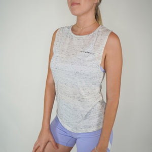 Scoop Muscle Tee- Vanilla Bean