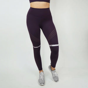 Flow Leggings V2 -Plum