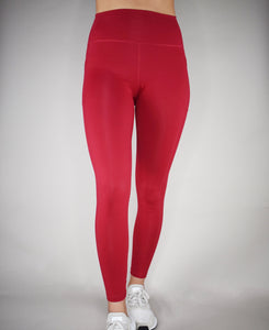 Elixir Leggings - Cherry Red