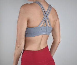 Janus Sports Bra- Slate Gray