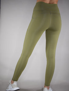 Elixir Leggings - Olive