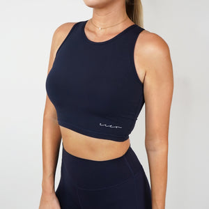 Elixir Crop - Midnight Blue