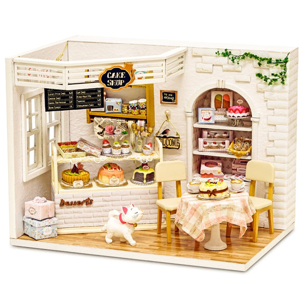 DIY Dollhouse | Adorable Time | Wooden Miniature House | DIY Kit