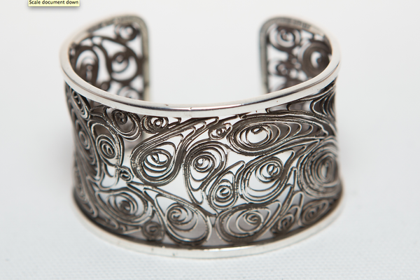 SILVER FILAGREE BRACELET - PRICE UPON REQUEST