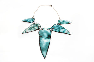 ENAMELED ARROWHEAD NECKLACE- PRICE UPON REQUEST