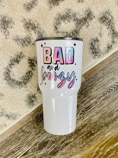 30oz Tumbler PRE-ORDER (Bad and Boozy)