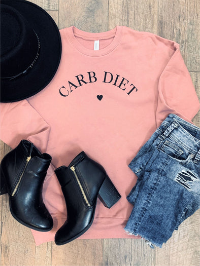 Carb Diet Cozy Sweatshirt
