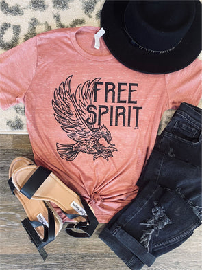 Free Spirit Rock Inspired Tee