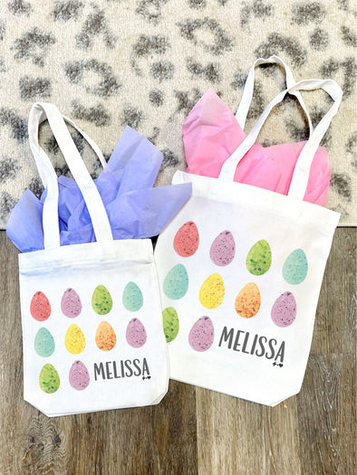 Watercolor Easter Tote Bag