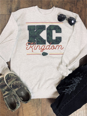 KC Kingdom CAMO Sweatshirt