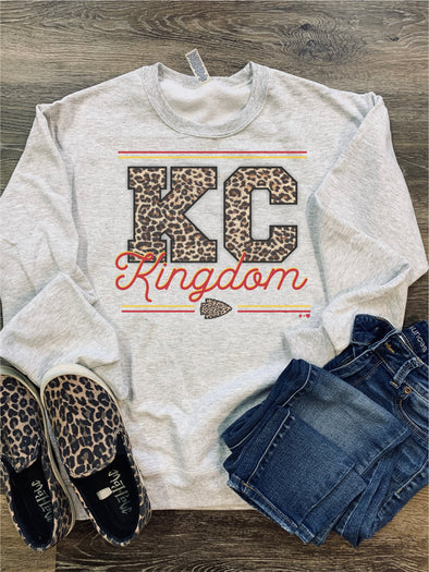 KC Kingdom LEOPARD Sweatshirt