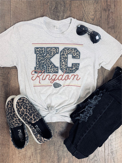 KC Kingdom LEOPARD Tee Shirt