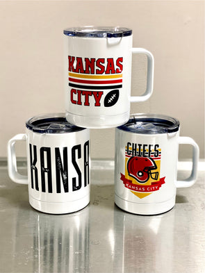Kansas City Steel Tumbler
