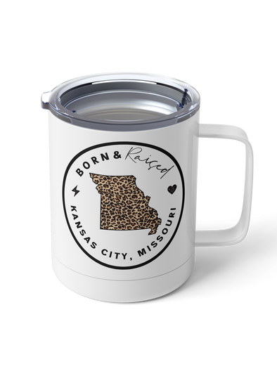 15oz. Steel Tumbler PRE-ORDER (Born and Raised)