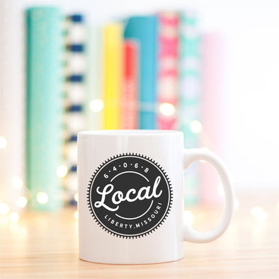 Local Custom City and State 11oz Mug