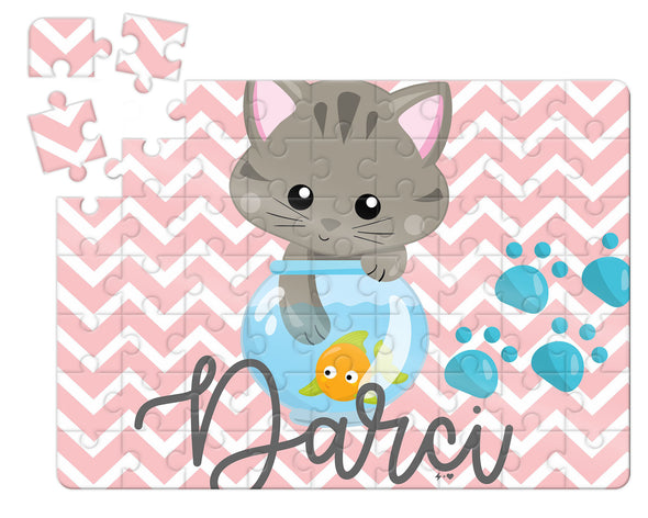 Kitten Kids Custom Puzzle