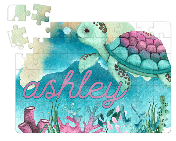 Under the Sea Kids Custom Puzzle