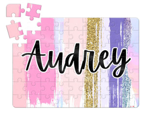 Pretty Swatches Kids Custom Puzzle