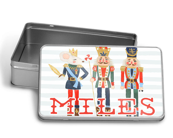 Whimsy Nutcrackers Puzzle WITH MATCHING TIN BOX