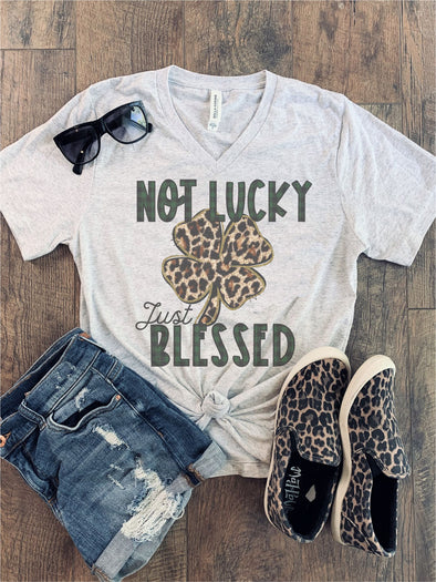 Not Lucky Just Blessed St. Patty's Tee