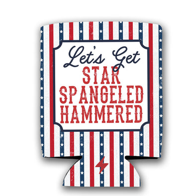 Star Spangeled Hammered Koozie