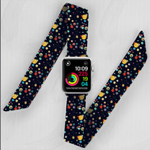 Load image into Gallery viewer, The Final Frontier Hand Made Apple Watch Scarf Band