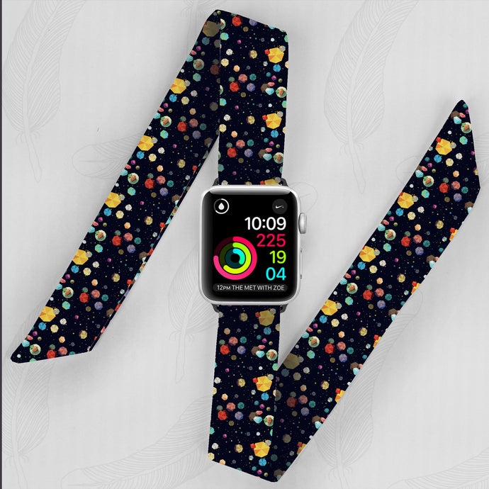 The Final Frontier Hand Made Apple Watch Scarf Band