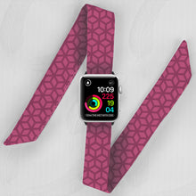 Load image into Gallery viewer, pink Marrakesh pattern apple watch band