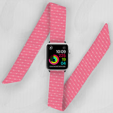 Load image into Gallery viewer, Aztec Arrows Hand Made Apple Watch Scarf Band