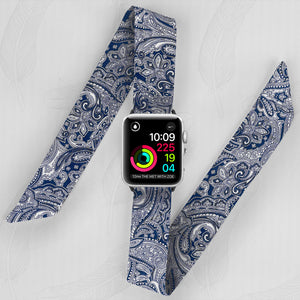 Additional Blue Bandana Watch Band