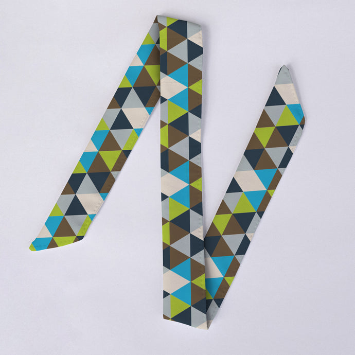 Additional Green Triangles Watch Band