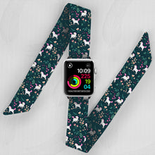 Load image into Gallery viewer, Little Pony Hand Made Apple Watch Scarf Band