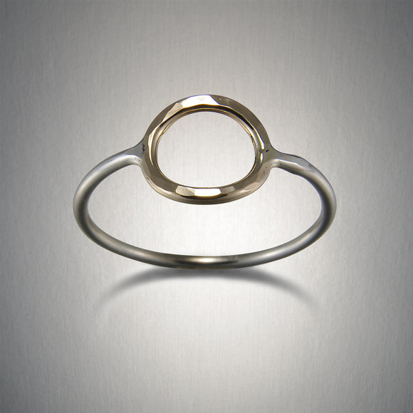 1100CO - Circle Ring - Mixed Metal