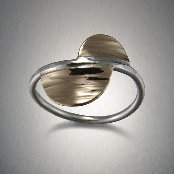 1160CO - Offset Semicircle Ring
