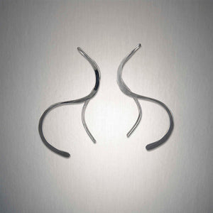 2287 - Minimalist Threader - Mirrored S - Sterling Silver