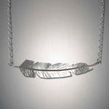 3915CO - Feather Chain - Mixed Metal